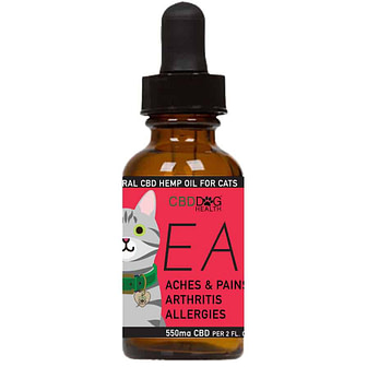 EASE - 550 mg Full Spectrum Hemp Extract (CBD) for Cats with...