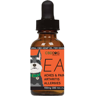 EASE - 550 mg Full Spectrum Hemp Extract (CBD) for Dogs with...
