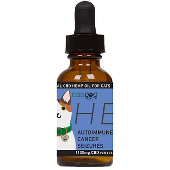 HEAL - 1100 mg Full Spectrum Hemp Extract (CBD) for Cats