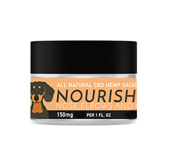 NOURISH Full Spectrum Hemp Extract (CBD) Salve with Vanilla and Vitamin E